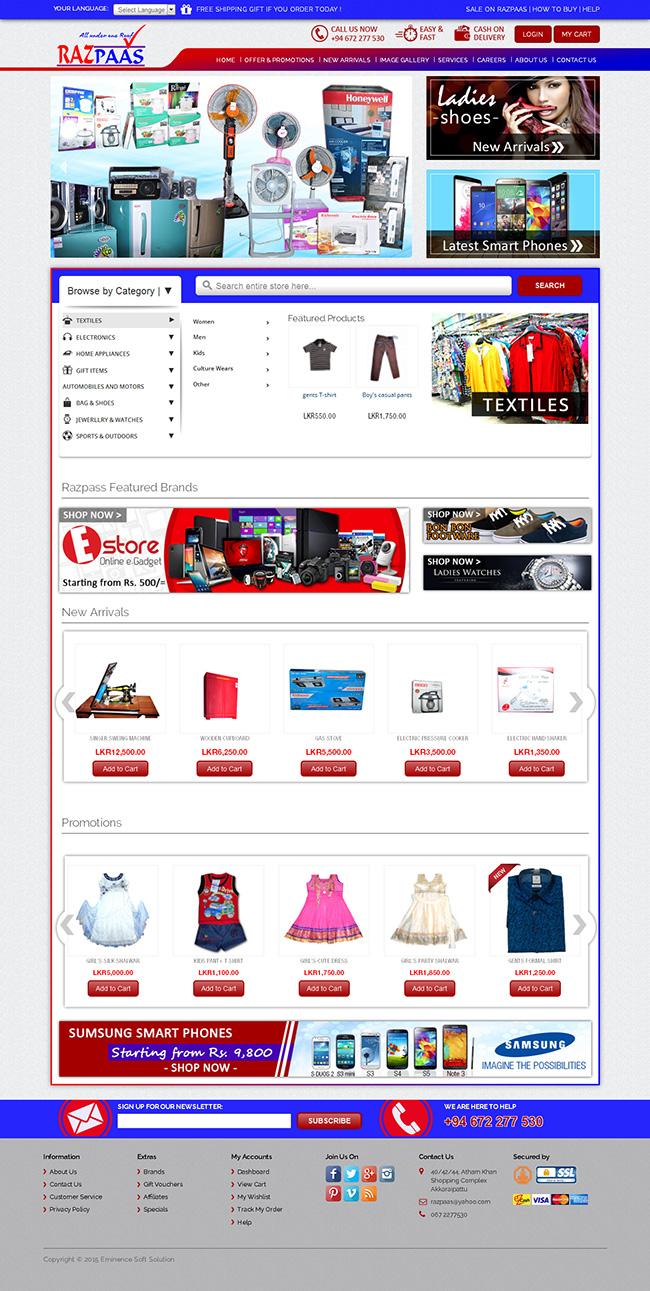 Razpaas Homepage
