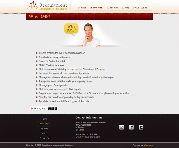 Recruitment Management Solutions